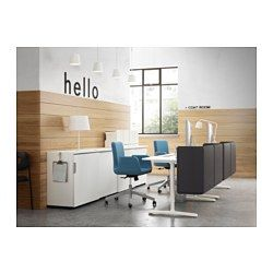 PATRIK Swivel Chair, Dark Gray Ullevi Ultuna Dark Gray       IKEA