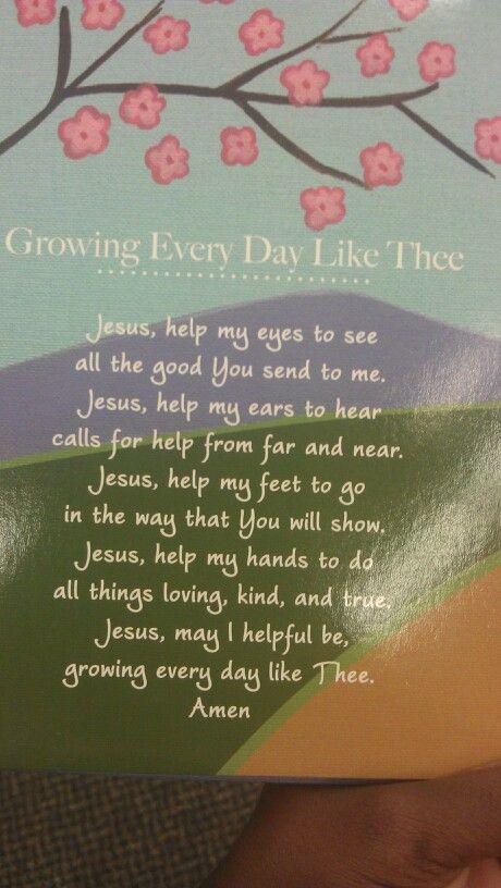 Children's Prayer | Prayers for children, Childrens prayer, Bedtime prayer
