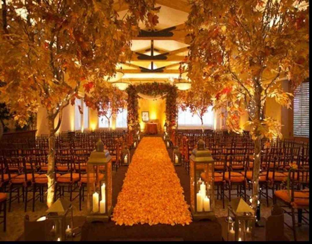 Fall Wedding Ideas On A Small Budget