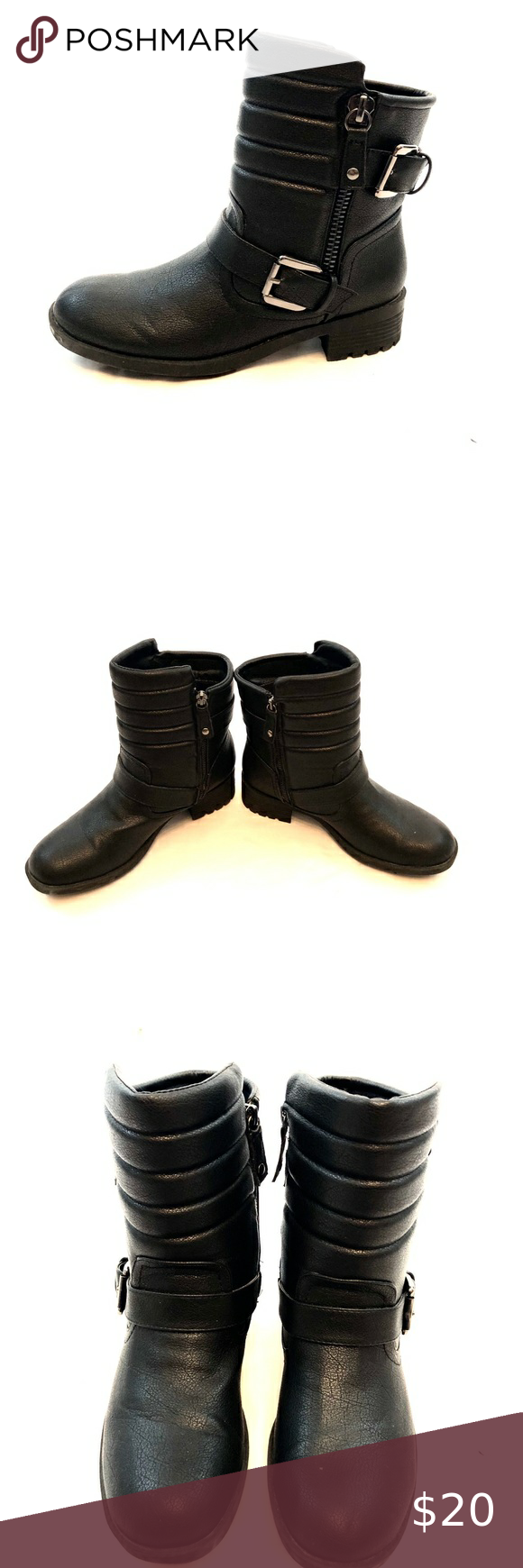 Rampage Black Ankle Boots in 2020