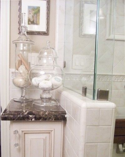 Beautiful Glorious Bathroom Accessories Decorating Ideas For Elegant Bathroom  Traditional Design Ideas With Bath Room Master Bath. Bathroom, Cool Apothecary  Jars ...