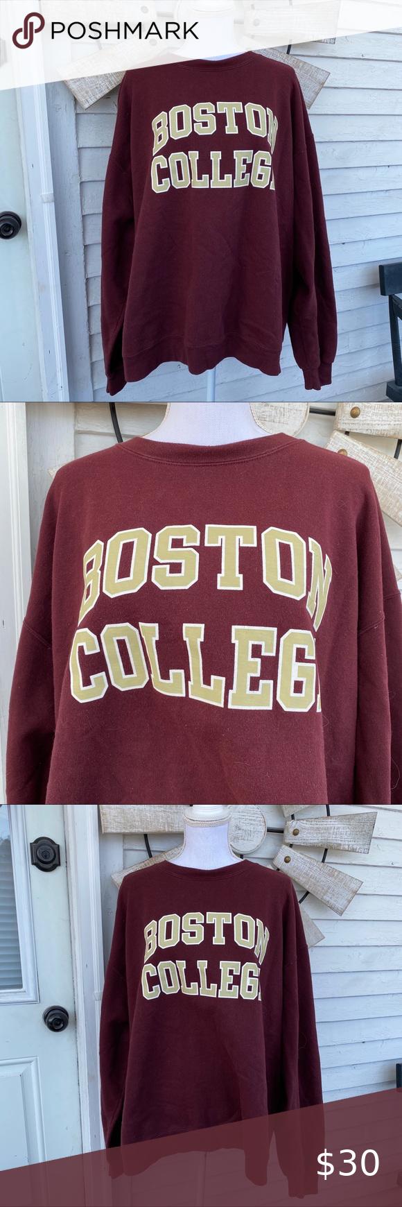 On Sale Vintage Boston College Reverse Weave Champion Etsy Sweatshirts Champion Sweatshirt College Sweatshirt [ 3000 x 1987 Pixel ]