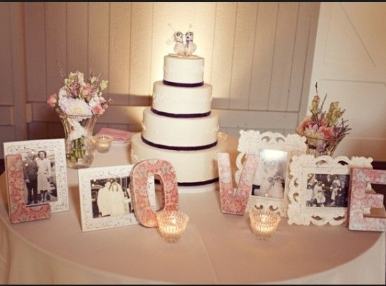 Possible Cake Table Layout