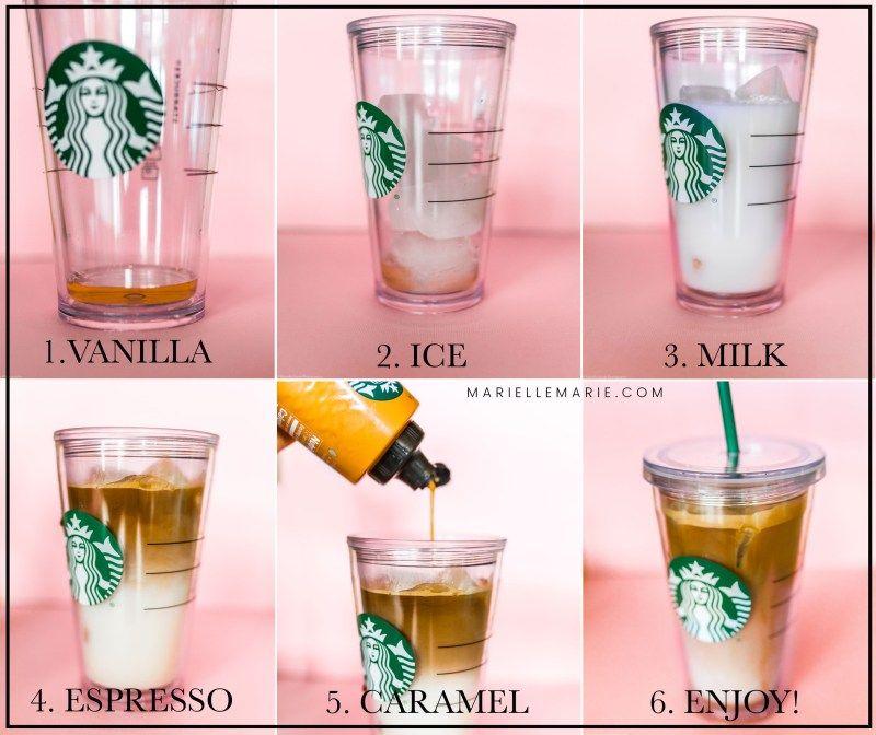 Starbucks Iced Caramel Macchiato Copycat Recipe - Marielle Marie