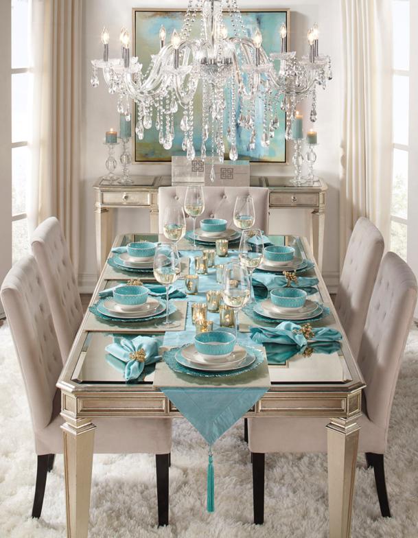 Aqua dining | home ideas | Pinterest | Cabecera, Comedores y Sillas