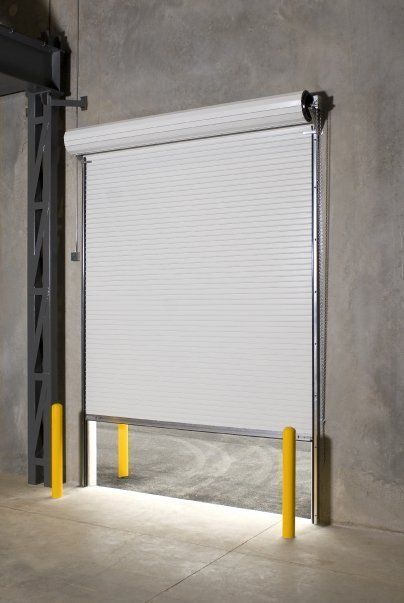 Durosteel Janus 10 X 12 2000i Series Insulated Commercial Roll Up Door Direct Rolling Steel Doors Roll Up Doors Home Improvement