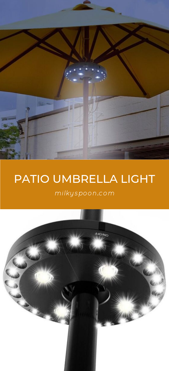 Patio Umbrella Light