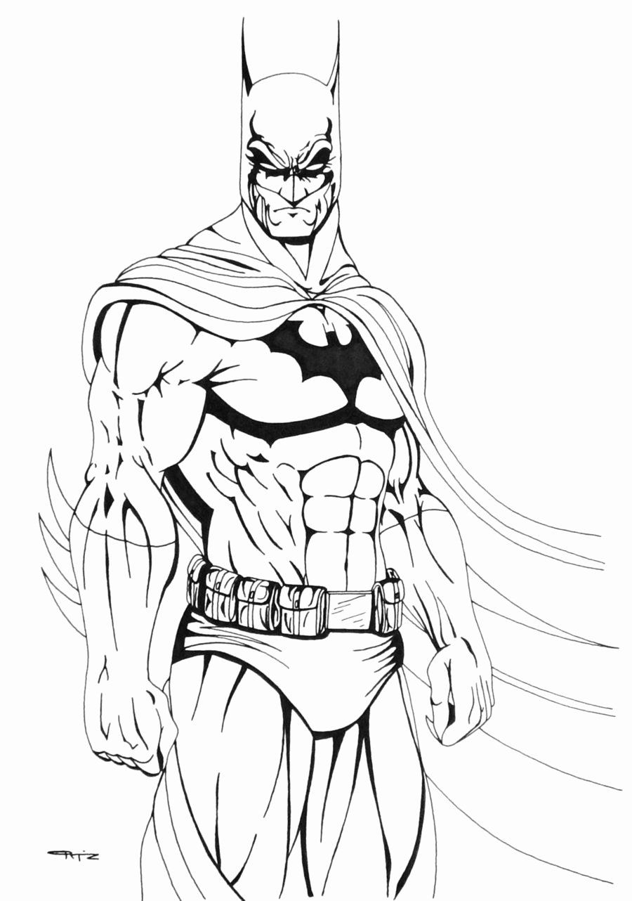 Kids Coloring Books Luxury Free Printable Batman Coloring Pages