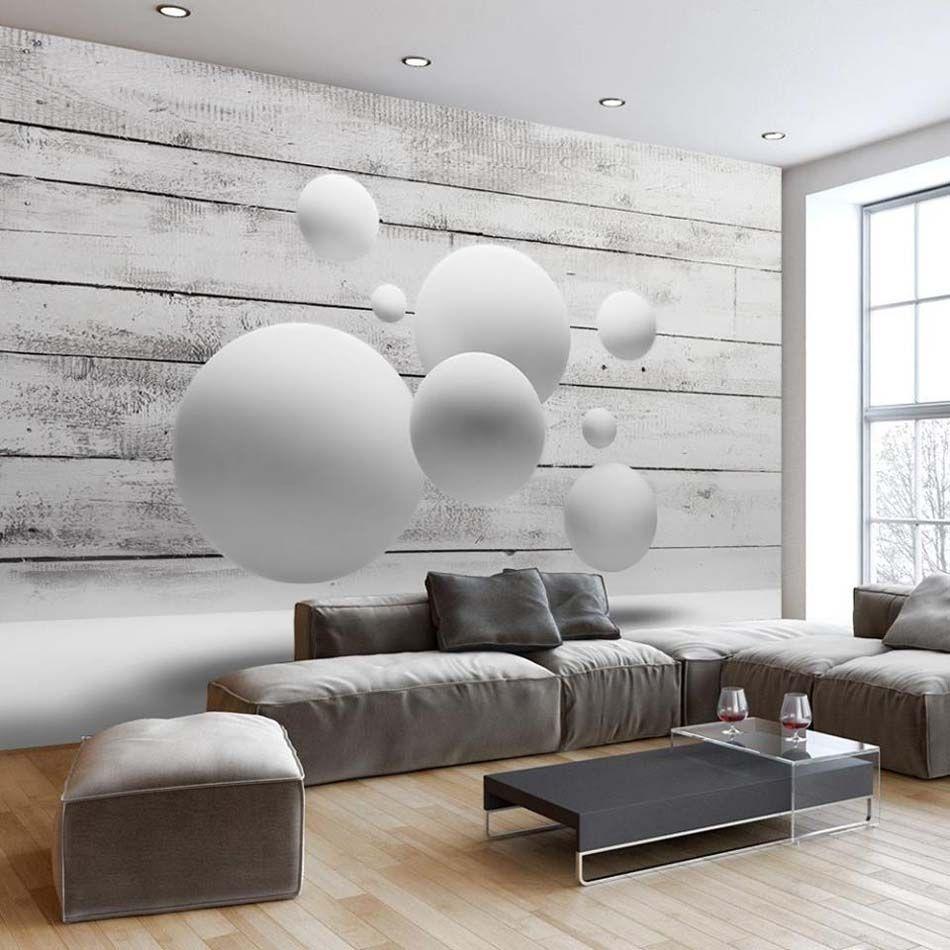 papier peint 3d créant un effet abstrait et trompe l'œil ... - Interieur Design Dreidimensionaler Skulptur