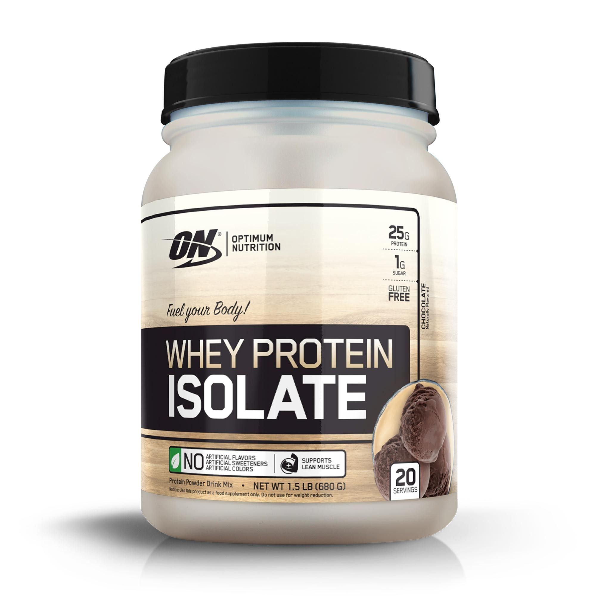 Optimum Nutrition Whey Isolate Protein Powder Chocolate 24oz Optimum Nutrition Whey Optimum Nutrition Whey Protein Isolate