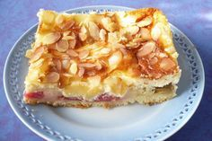 Rhabarber - Schmand - Kuchen #foodporn