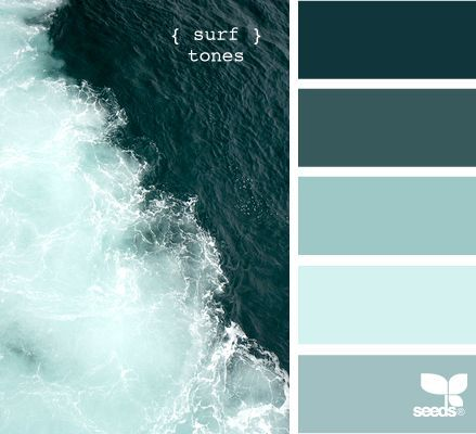 11 Peaceful Paint Palettes Inspired By The Sea | Blog, Color Pallets And  Color Inspiration