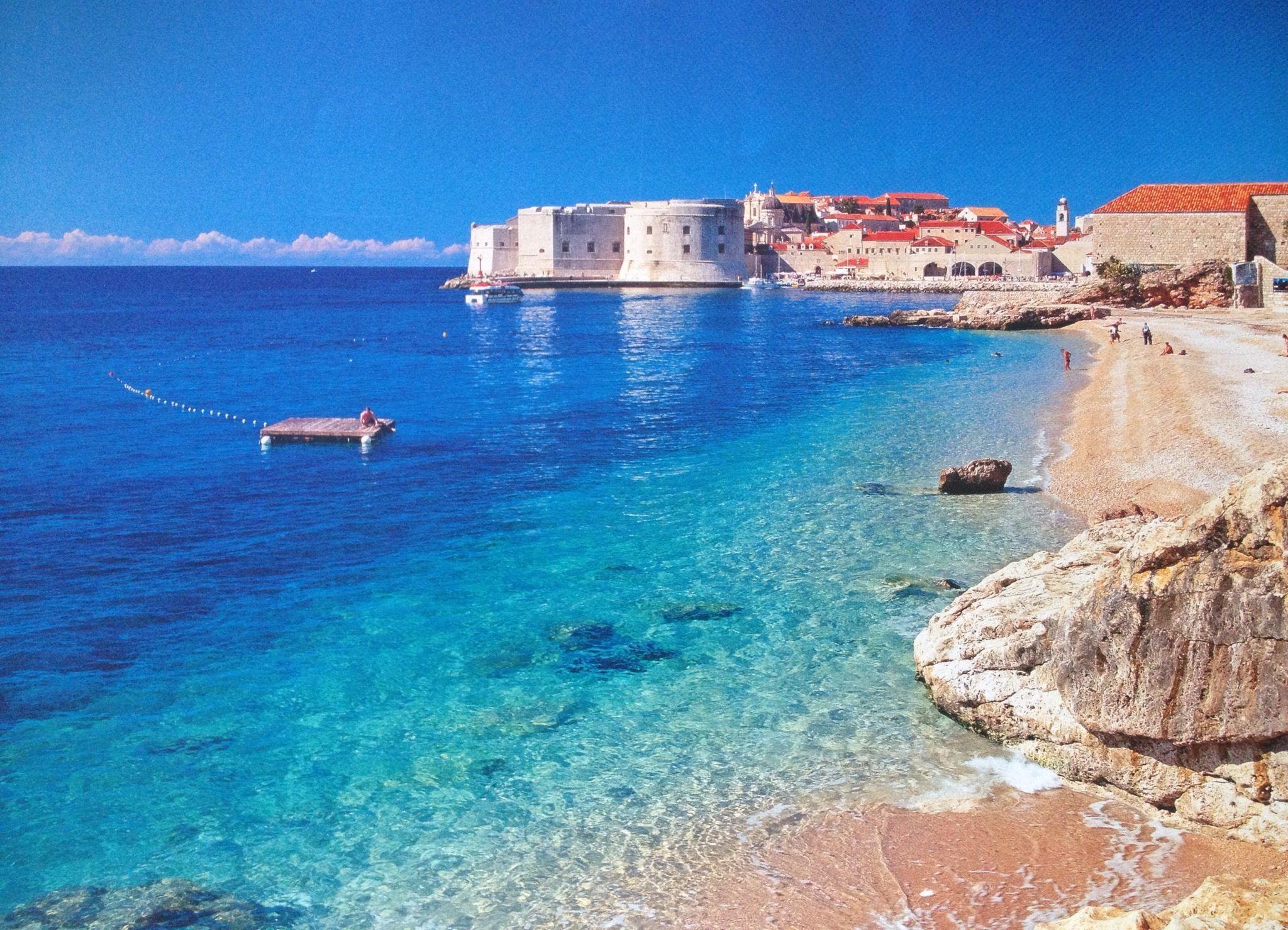 Banje Beach, Dubrovnik, Croatia see our TripCrate guide