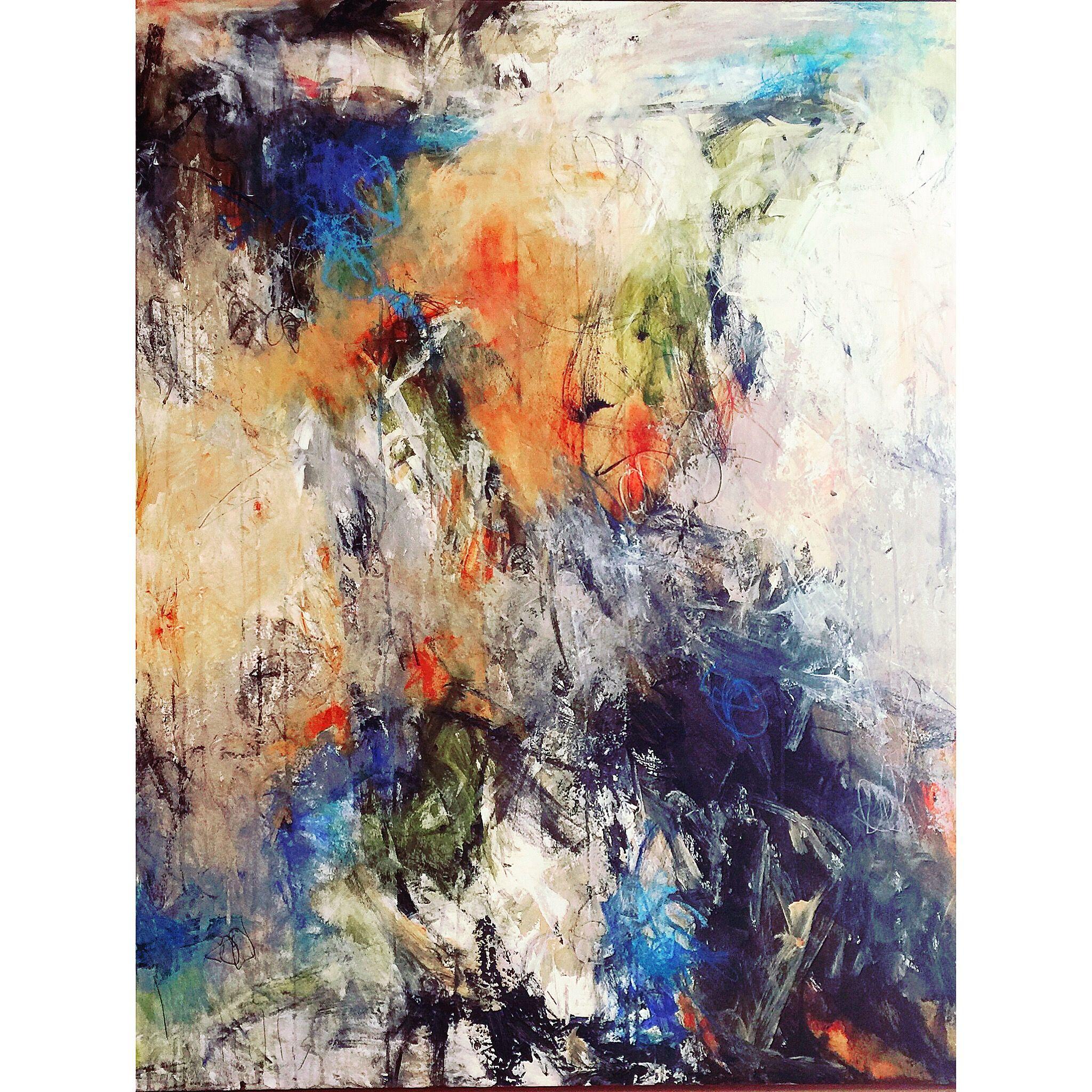 Abstract art | Abstract painting | Mixed media | Nancy Hillis