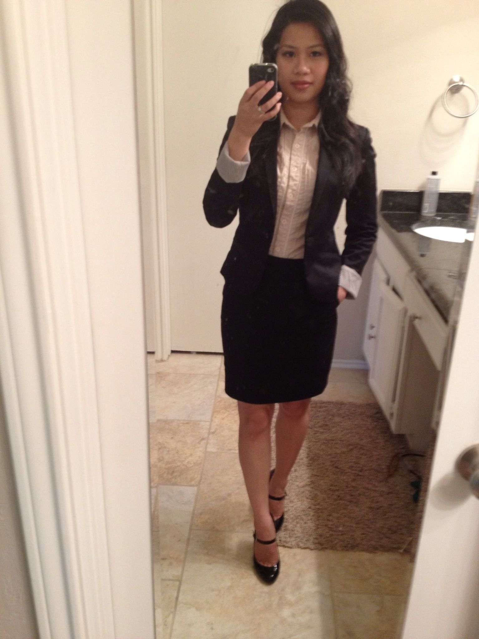 Interview outfit that helped me got the job ) | fashion styles I love to wear | Pinterest ...