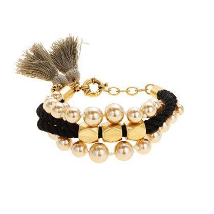 J.Crew - Pearl tassel bracelet