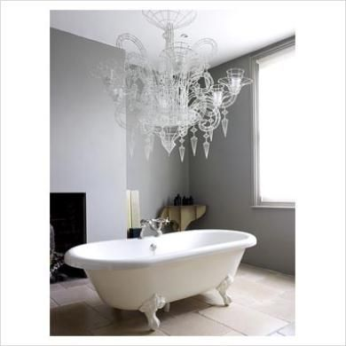 Large crystal bathroom chandelier bathroom chandeliers pinterest small crystal chandelier for bathroom chandelier mozeypictures Gallery