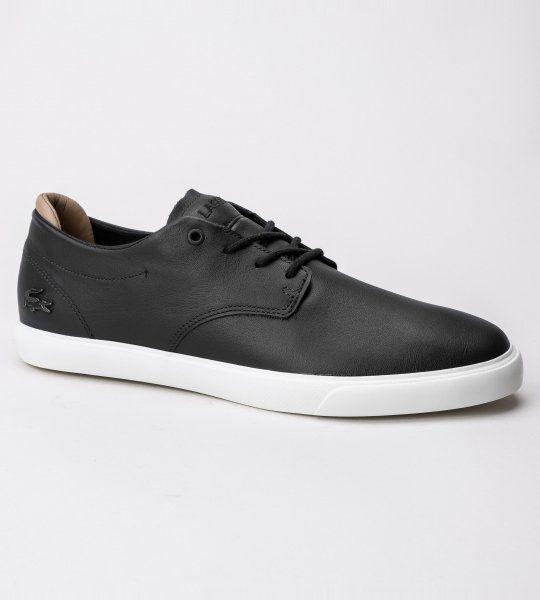 Espere 117 1 CAM Black/Off Wht Lth Lacoste. Shoes. Designer. Fashion