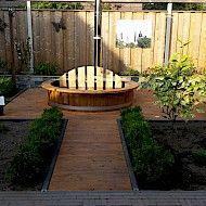 badetonne einbau badefass einbau badezuber einbau badebottich einbau hot pott einbau. Black Bedroom Furniture Sets. Home Design Ideas