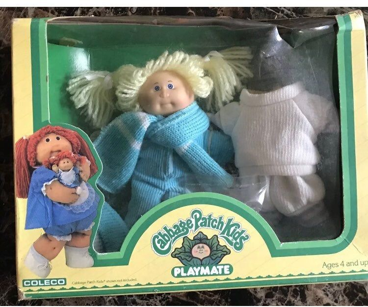 Vtg 1984 Coleco Cabbage Patch Kids Playmate Original Box Condition Is Used Listed As Used Du Cabbage Patch Babies Cabbage Patch Kids Cabbage Patch Kids Dolls