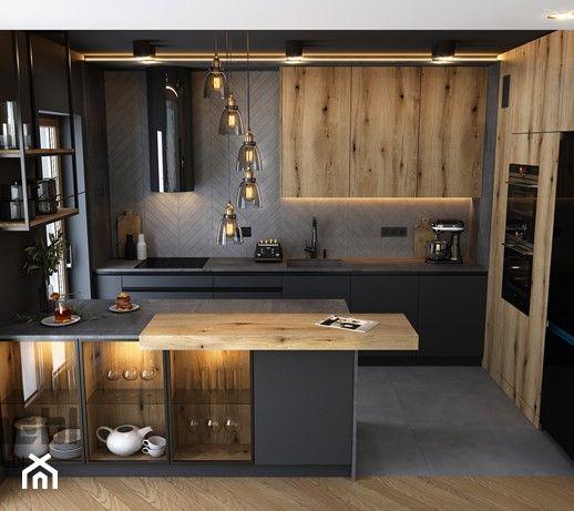 Kuchnia - styl Industrialny 2021