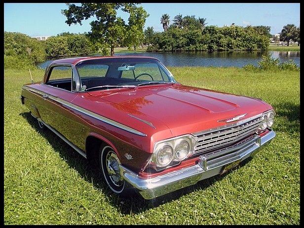 1962 Chevrolet Impala Ss Hardtop 283 Ci Automatic Chevrolet Impala Autos