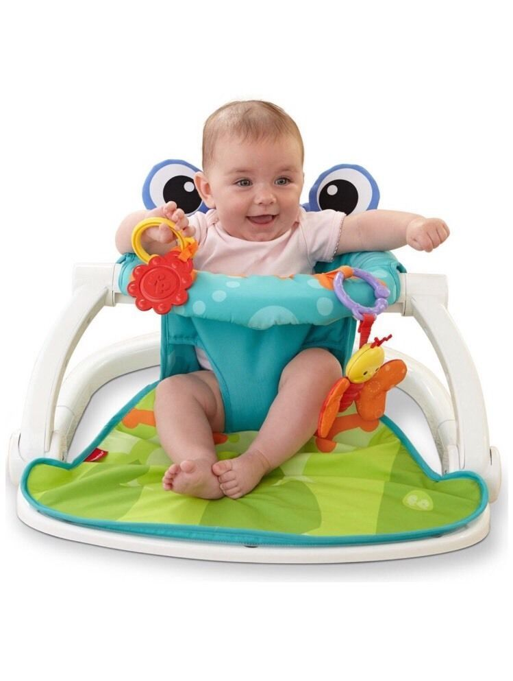 Floor Seat Sit Up Baby Infant Toddler Portable Chair Play Learn