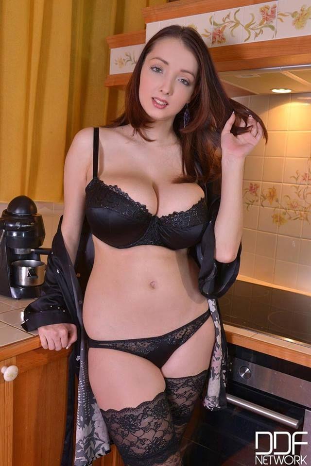 Busty boobs lingerie