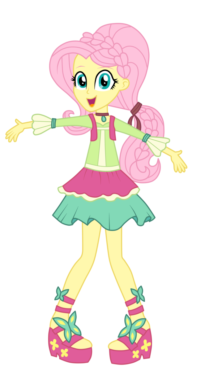 Fluttershy - Friendship Through the Ages by MixiePie on DeviantArt