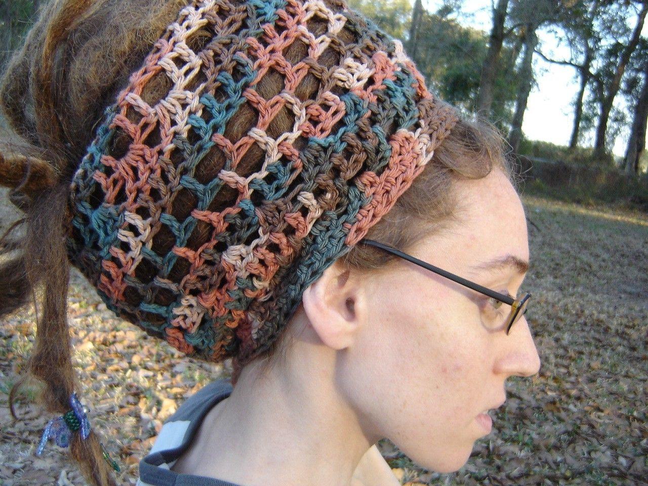 Beautiful Crochet Hair Wrap Crochet Pinterest Beautiful