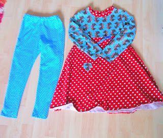 Anja Frieda: Nähen: Kleid und Leggings für die Mini-Frieda