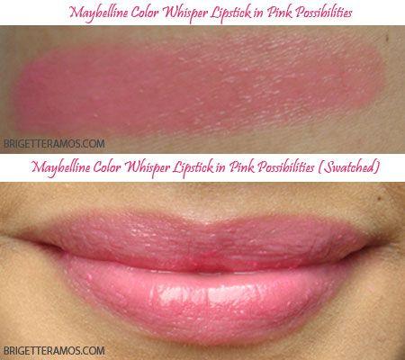 Maybelline Color Whisper - Pink Possibilities | Primp | Pinterest ...