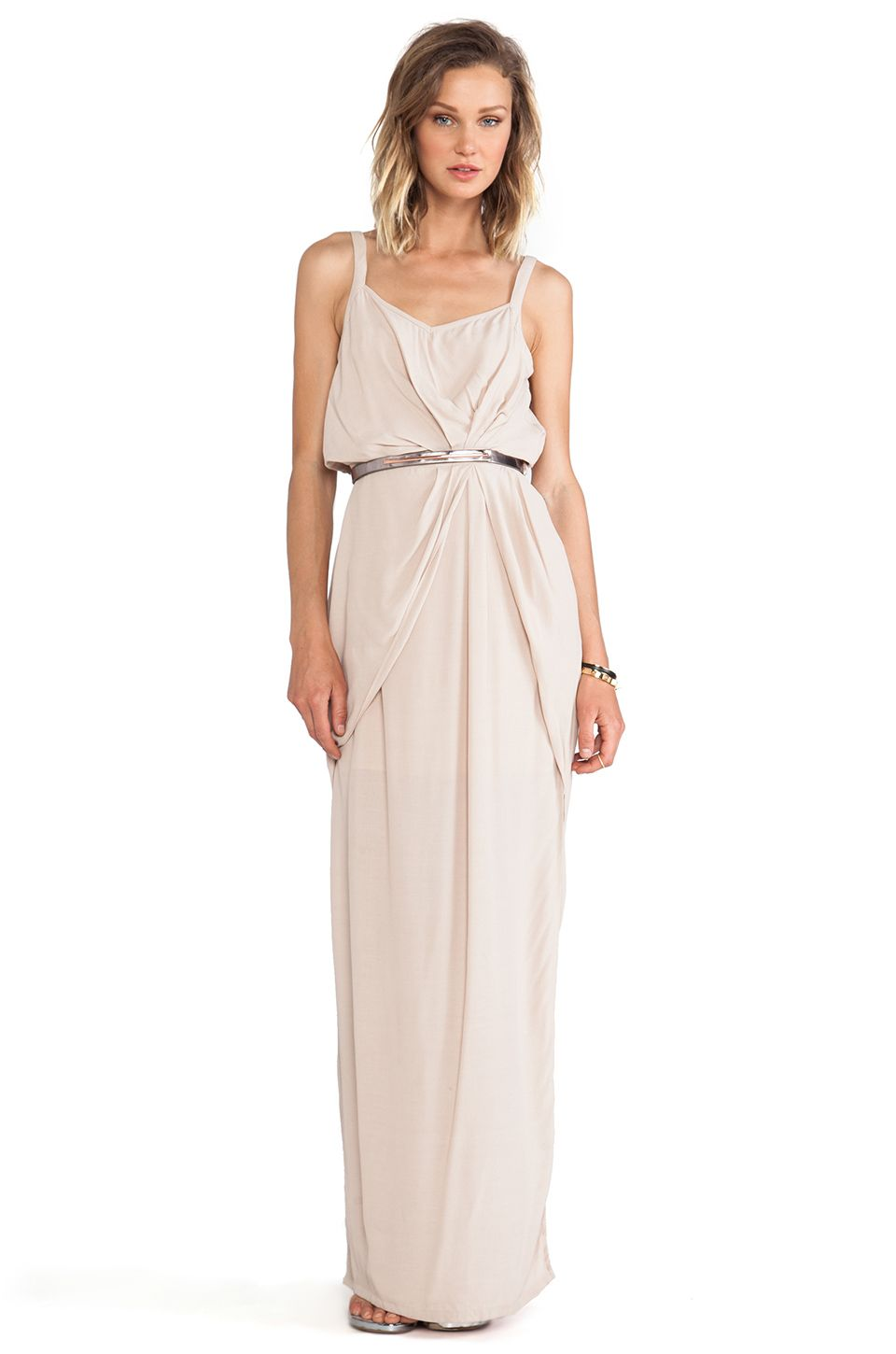 Wish eternal maxi dress in sand revolve fashions fade style is