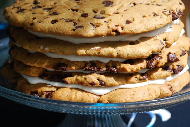 Giant cookie cake recipe chocolate chip