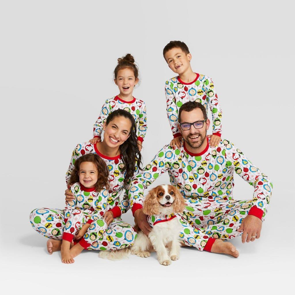 Peanuts Holiday Pajama Set Matching family holiday