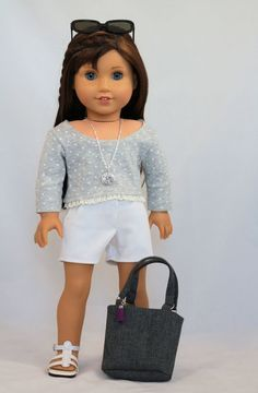 American Girl Doll Clothes. Southern by NoodleClothing on Etsy #americangirldollcrafts
