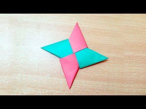 Origami Ninja Star How To Make Paper Ninja Star Easy Origami