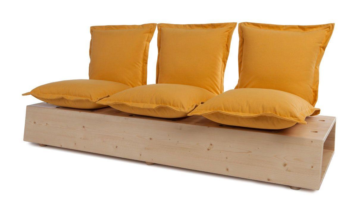 Facile Sofa, design Marco Gregori - Formabilio - Wood-Furniture.biz ...