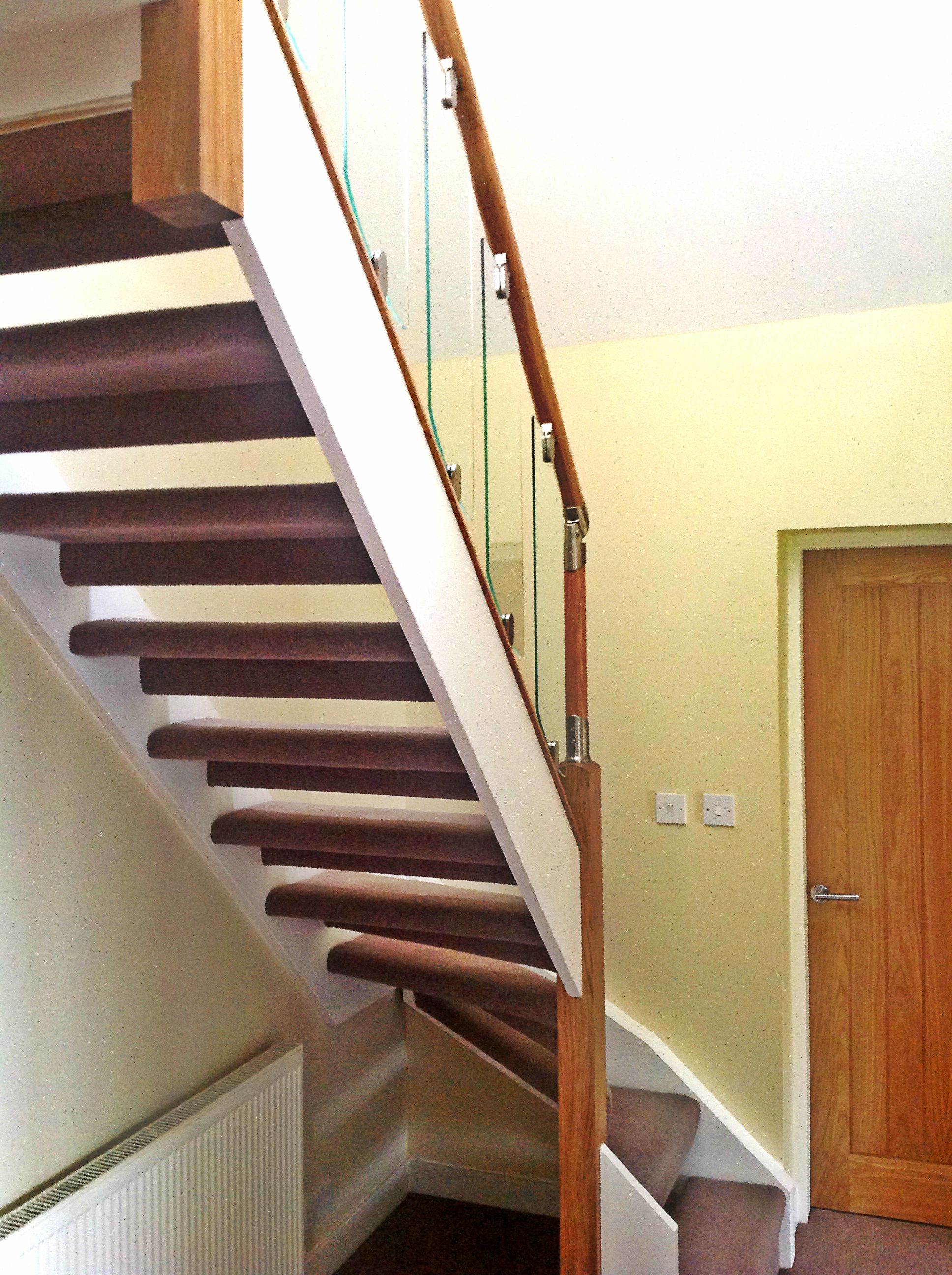 Bespoke Staircase Created By Buckleyu0027s Leading To Rear Dormer Loft  Conversion.