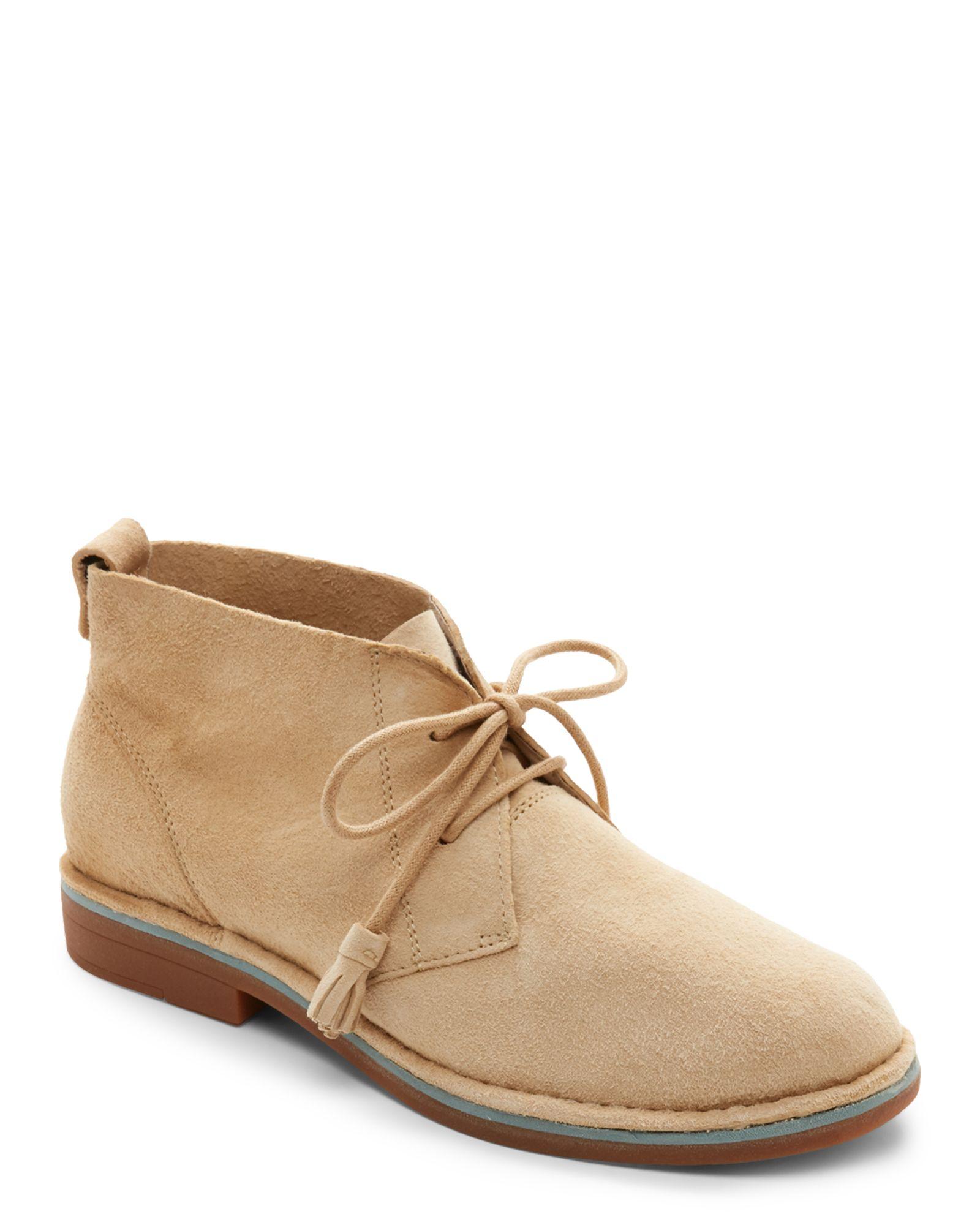 Hush Puppies Light Tan Cyra Catelyn Wide Chukka Boots