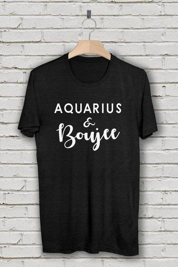 c1fd82961ce Aquarius and Boujee Women s T-shirt