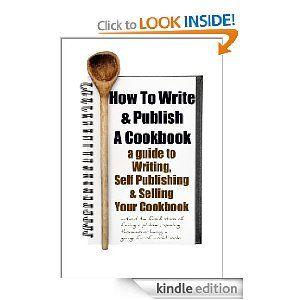 self publish cookbook