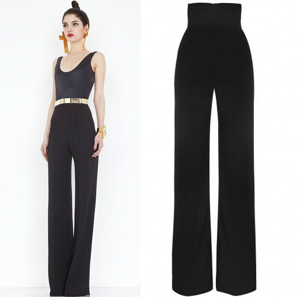 3ae3a97edae 8 Awesome high waisted bootcut trousers images