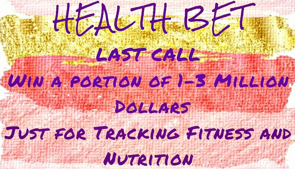 "LAST CALL the bet starts 1 week from today!! Win a portion of 1-3 million Dollars FULLY Funded by Beachbody , just for working out 3 times a week, drinking shakeology 5 times a week and logging it in the tracker app. IT""S THAT SIMPLE!! Make the commitment to get healthy and WIN email me to get registered jaxmariept@gmail.com"