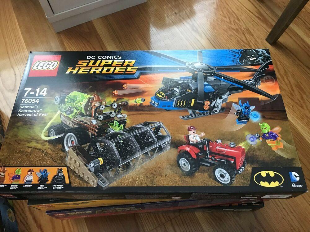 Scarecrow Harvest of Fear Rare New Batman LEGO 76054 DC Comics Super Heroes