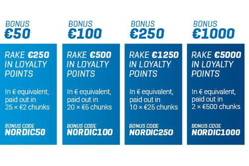 Dersom du er ny når det gjelder poker, foreslår vi at du velger den minste bonusen. Den blir løst ut i mindre enheter, og gjør seg gjeldende på kontoen din. Dersom du er en rutinert spiller kan du ...