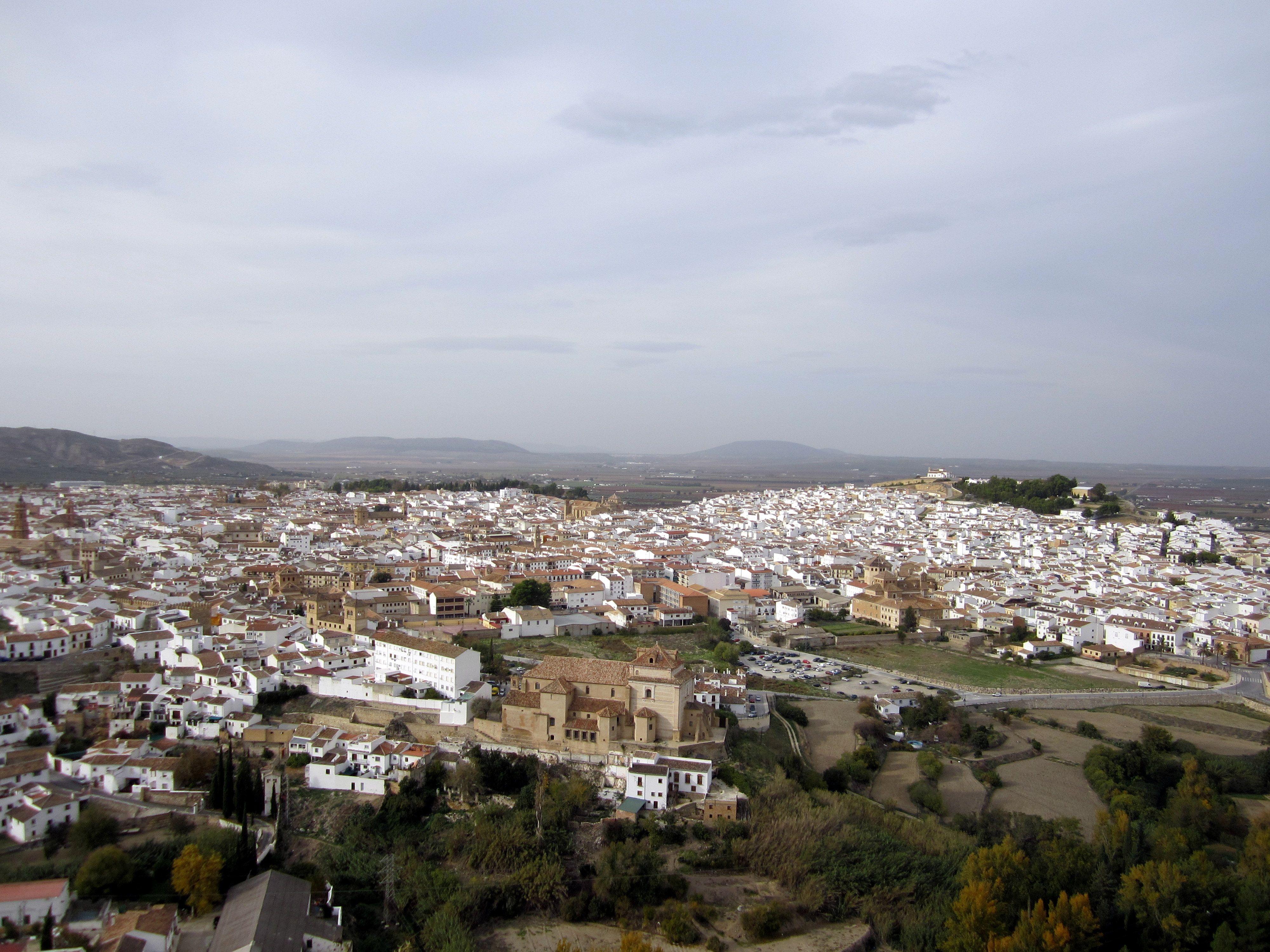 vista parcial de Antequera