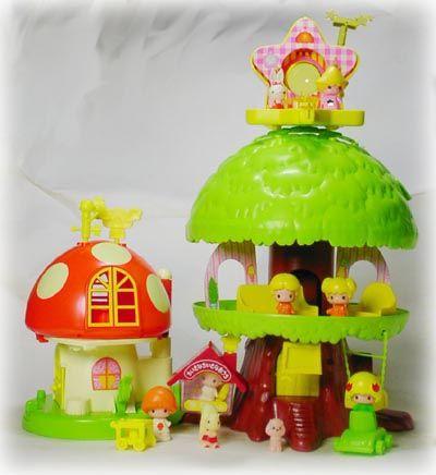 こえだちゃんと木のおうち レトロなおもちゃ 子供時代 子供時代の