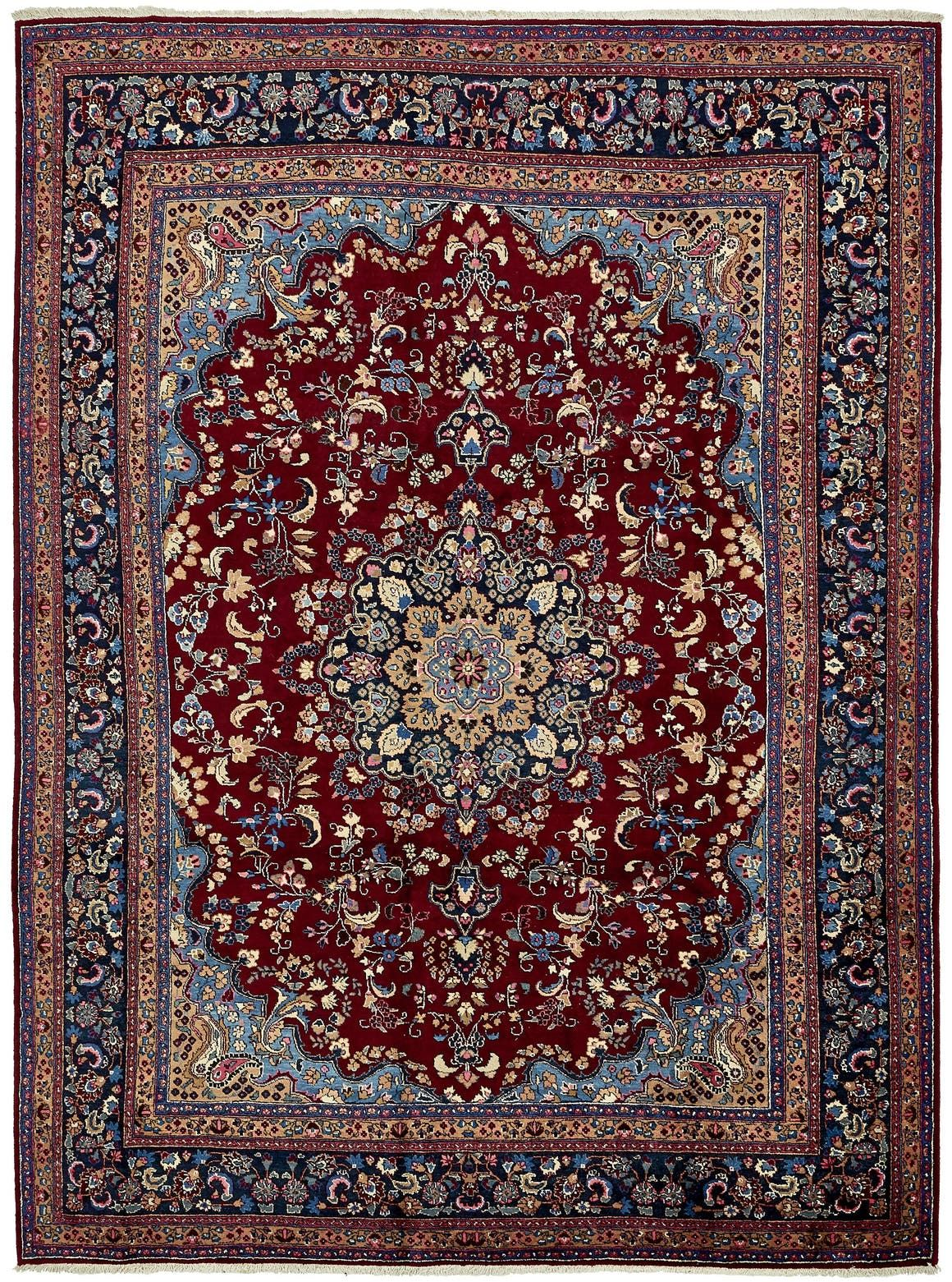 Mashad Red 9x12 Large Area Rug In 2020 Large Area Rugs Rugs Persian Rug