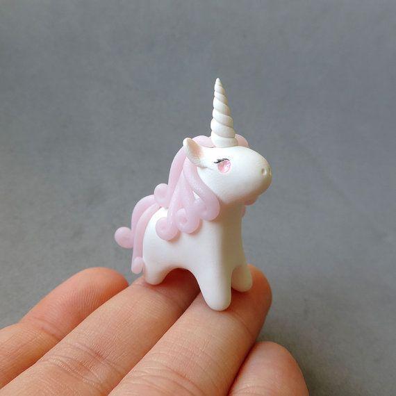 Pink Rose Quartz Gemstone Unicorn Figure by cbexpress on Etsy #etsy #pink…